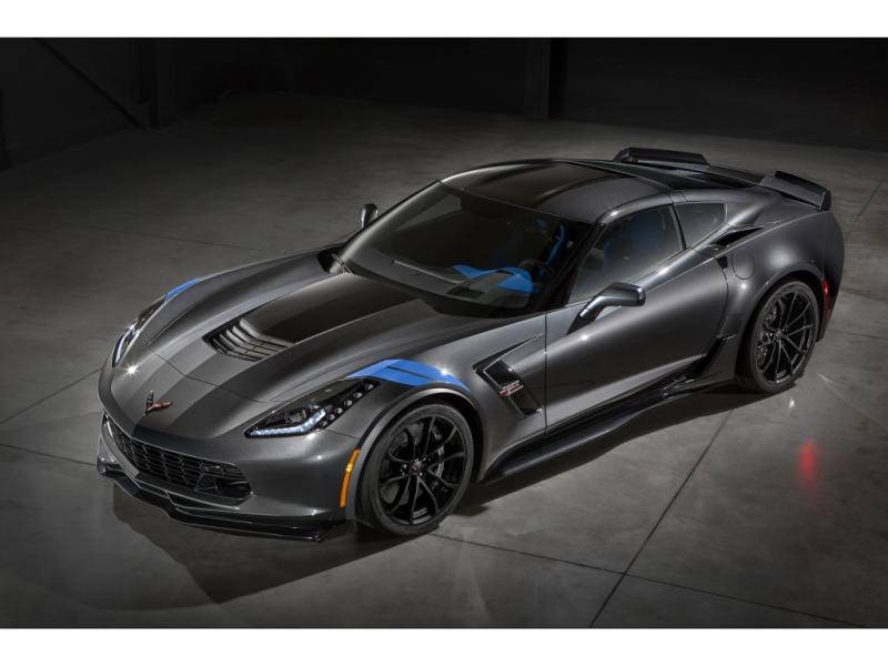 2017 CHEVROLET CORVETTE GRAND SPORT LT2
