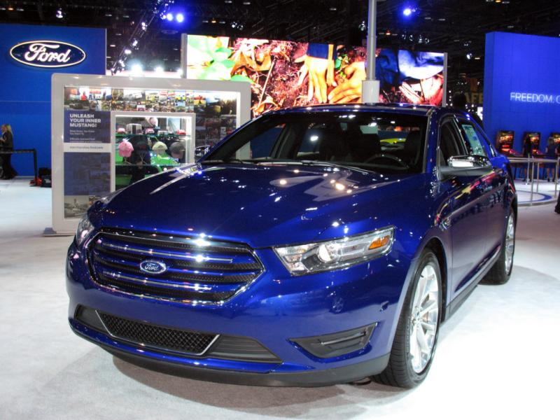 2013 FORD TAURUS LIMITED EDITION