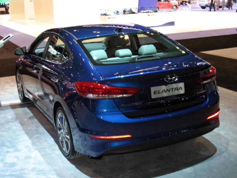 2017 HYUNDAI ELANTRA LIMITED EDITION