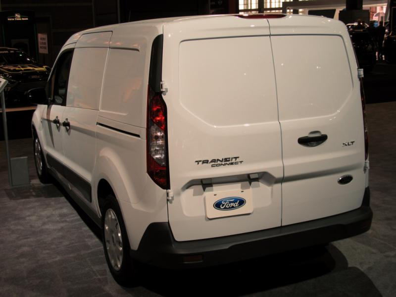 2017 FORD TRANSIT CONNECT TITANIUM