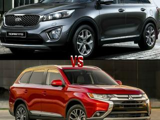 Driving Zone Showdown: Kia Sorento vs Mitsubishi Outlander Sport