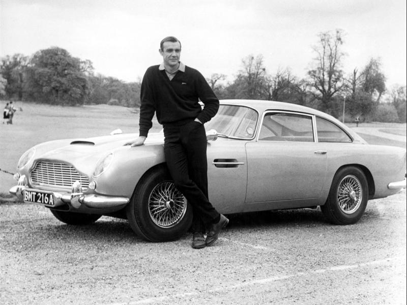 Bond's Best Cars: Aston Martin DB5