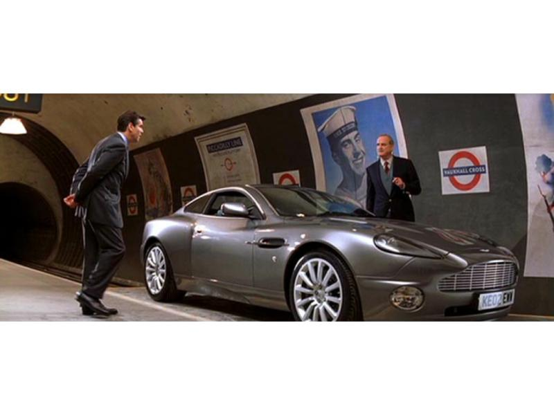 Bond's Best Cars: Aston Martin V12 Vanquish