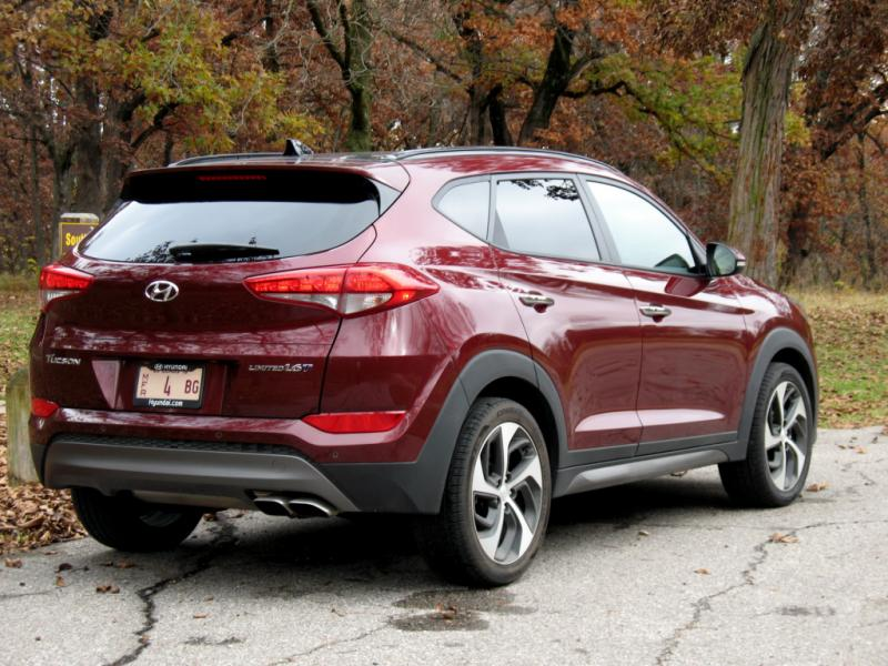 2016 HYUNDAI TUCSON LIMITED EDITION