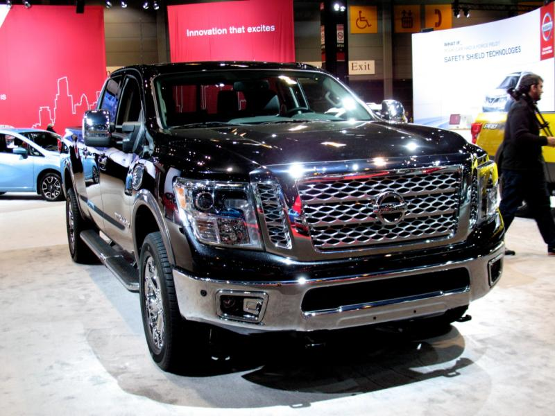 Nissan Gets Serious: 2016 Nissan TITAN NP1500 XD pickup truck