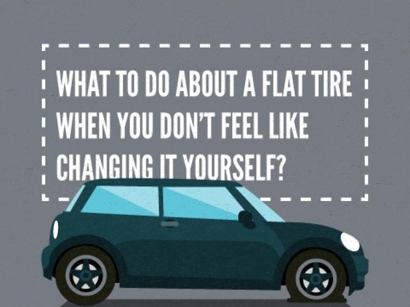 What To Do When You Have a Flat Tire: Roadside Tire Repair