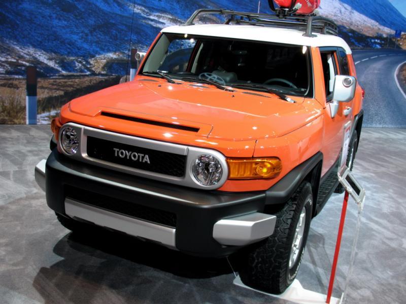 2017 Toyota Fj Cruiser