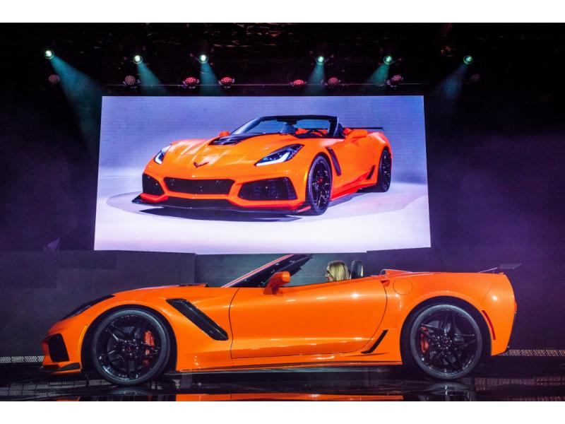 2018 CHEVROLET CORVETTE GRAND SPORT LT2