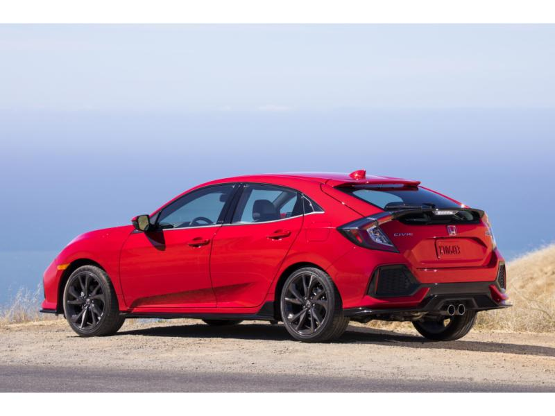 2018 HONDA CIVIC LX-P