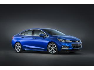 Sleek & Stylish: 2016 Chevrolet Cruze sedan
